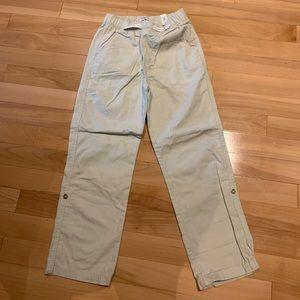 Boys tan Spring/Fall pants/capris - size 8